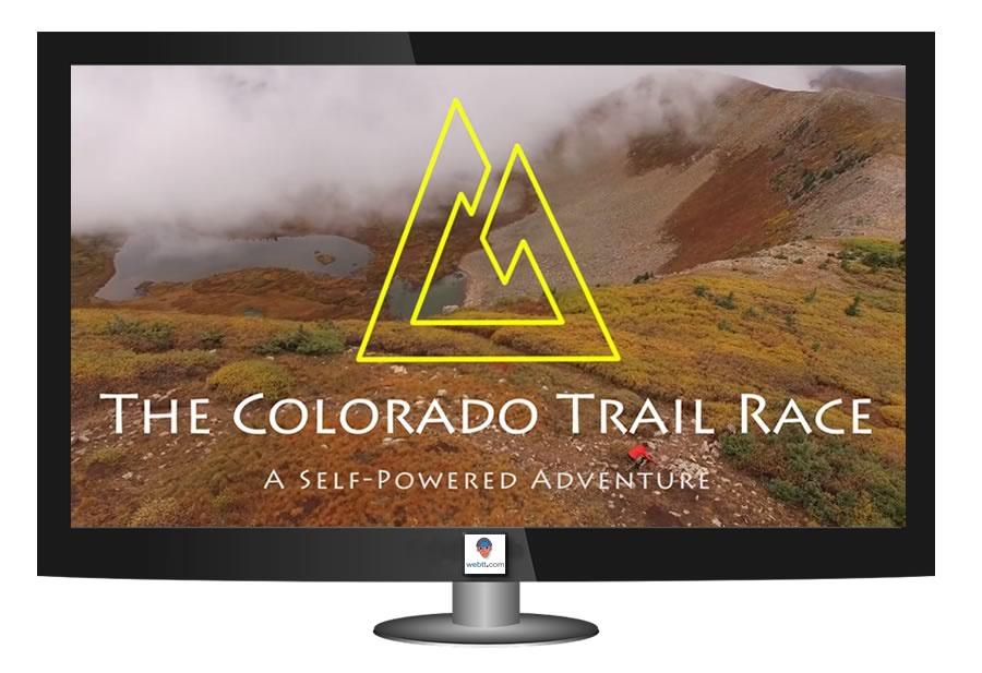 Film bikepacking Colorado Race Trail